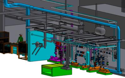 COLEMAN – Modifications des réseaux de distribution de gaz