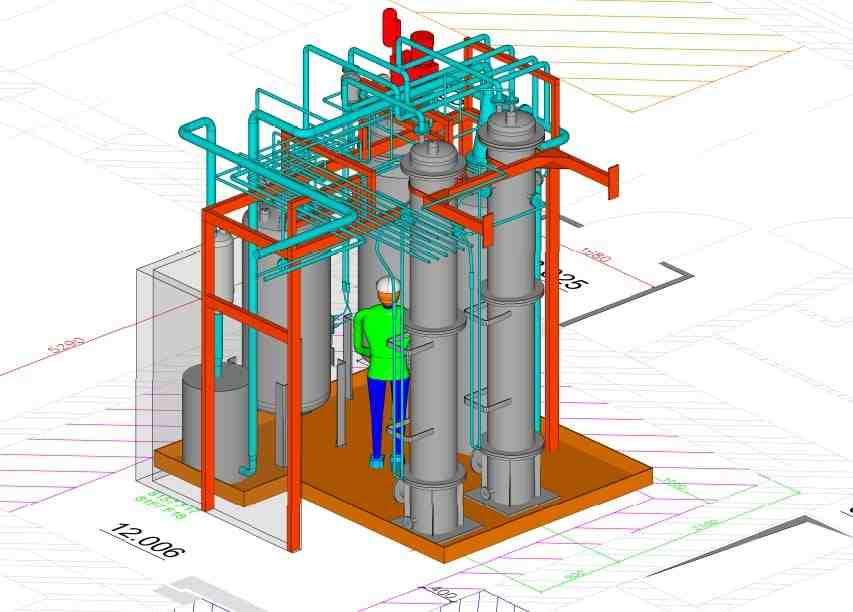 ONDRAF – Treatment of radioactive effluents